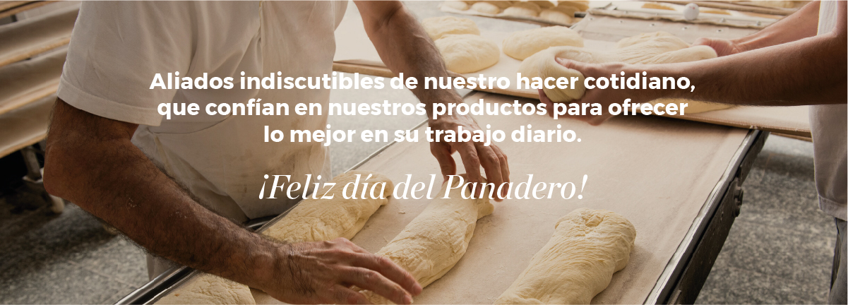 ¡Feliz día del Panadero!